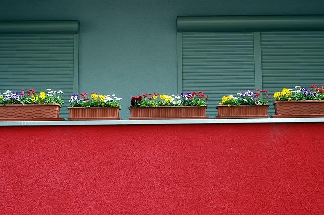 truhlíky na balkoně
