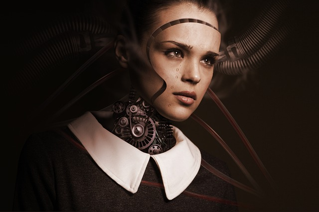 robotka s lidskou tváří