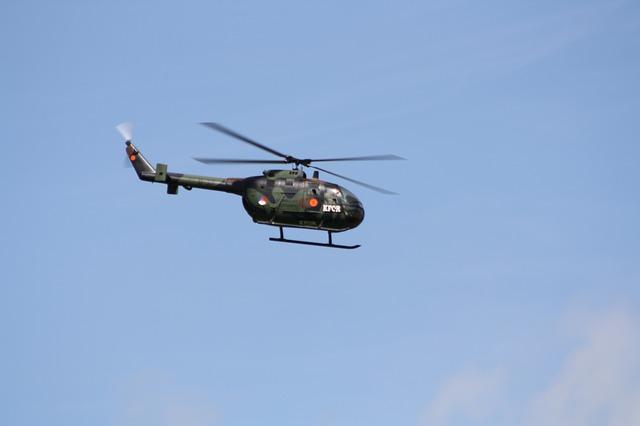 maketa vrtulníku